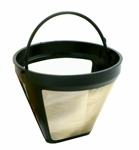 Coffee Makers That Use Cone Filters : Norpro 551 Gold Cone No. 4 Coffee Filter Coffee & Espresso Machine Reviews