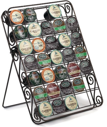 Universal K-cup Storage Rack 35 Capacity Can Be Used on Countertop ...