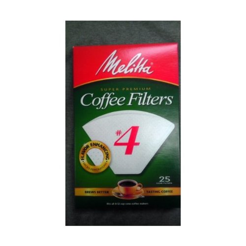 Coffee Makers That Use Cone Filters : Melitta Coffee Filters No. 4 Cone Paper White Coffee & Espresso Machine Reviews